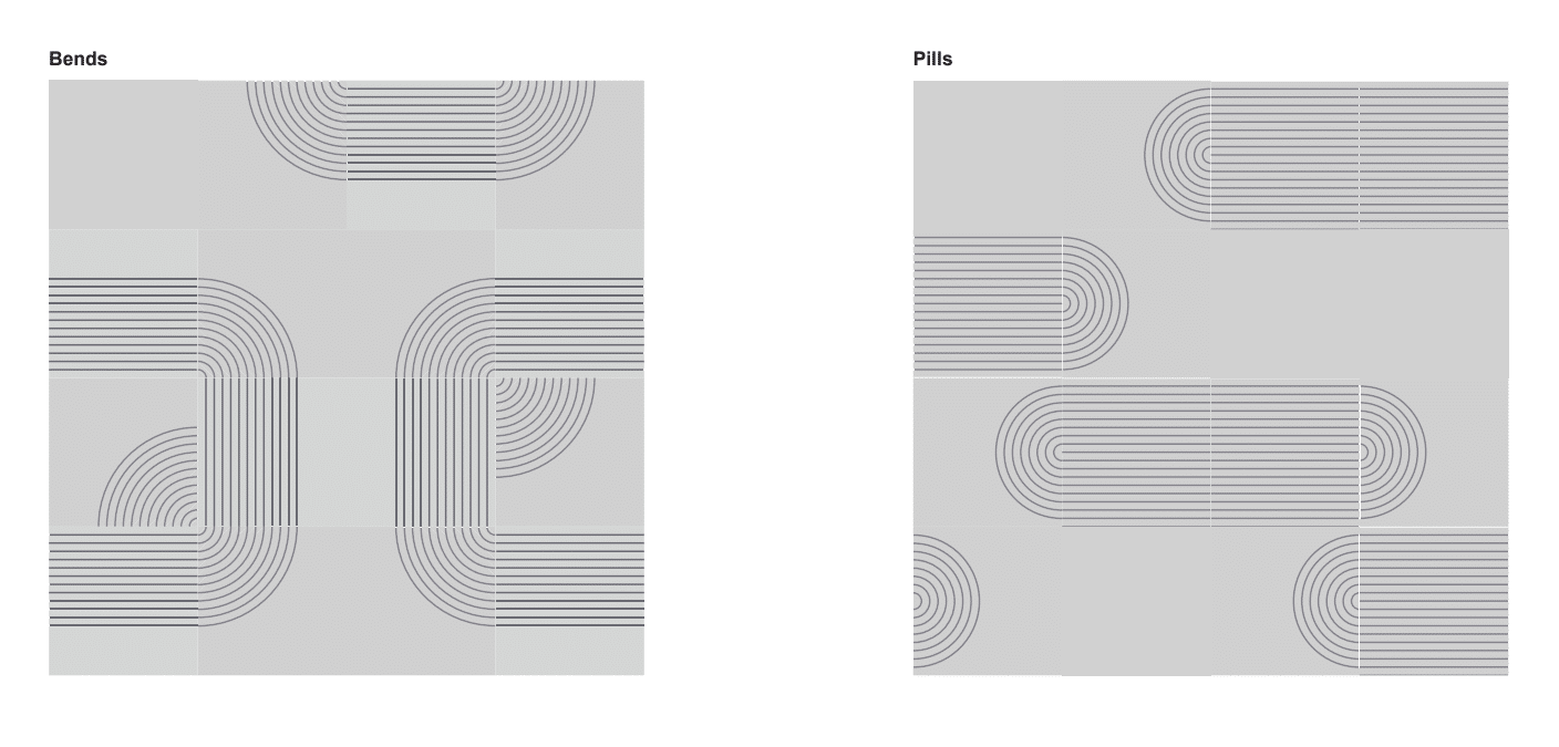 Acoustic Tiles patterns